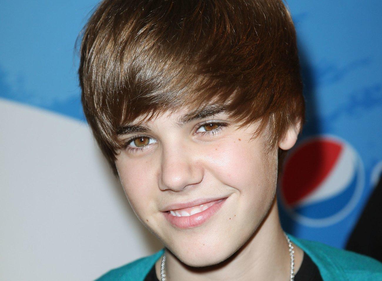 Justin Bieber mit Topfschnitt