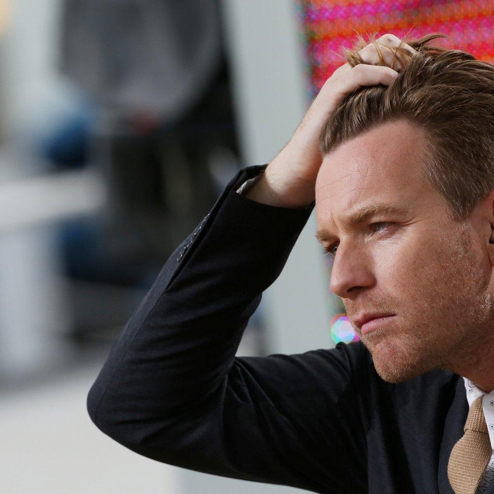 Ewan McGregor: Besorgter Vater