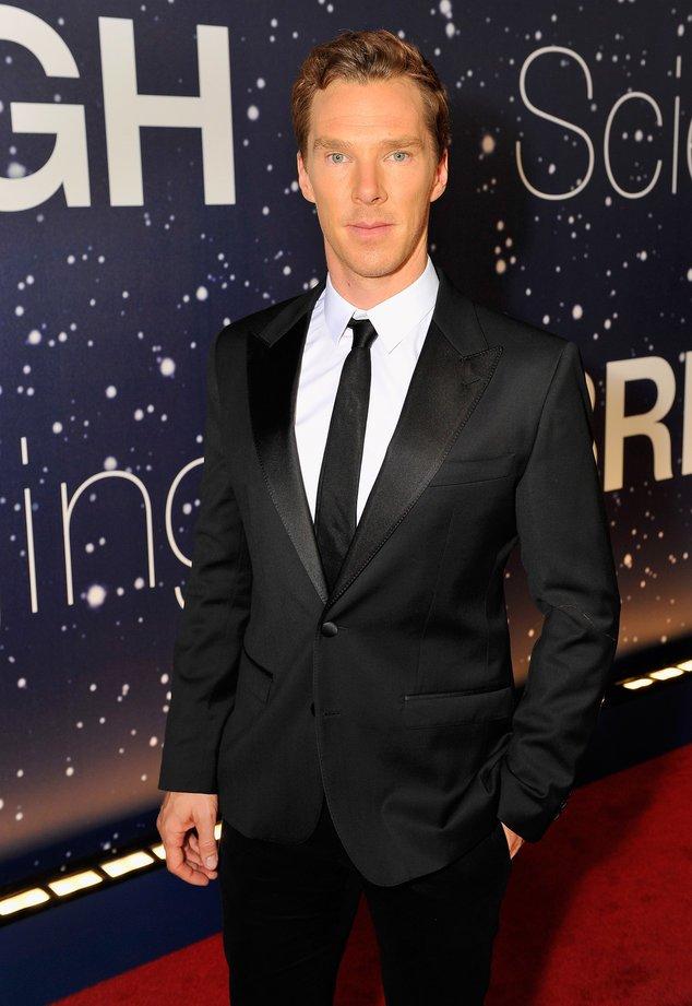 Benedict Cumberbatch auf dem roten Teppich
