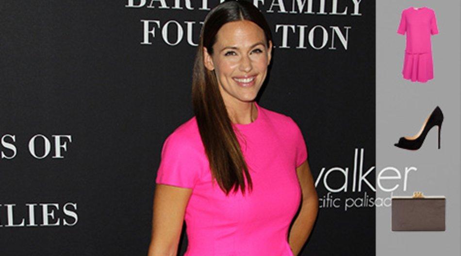 Jennifer Garner Pink Party
