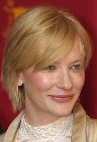 Cate Blanchett mit durchgestufter Kurzhaarfrisur