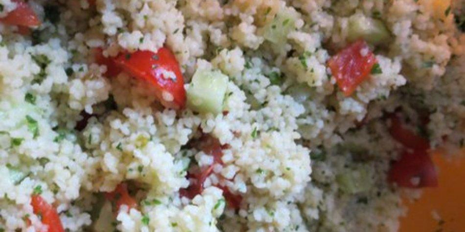 Couscous-Salat, vegan