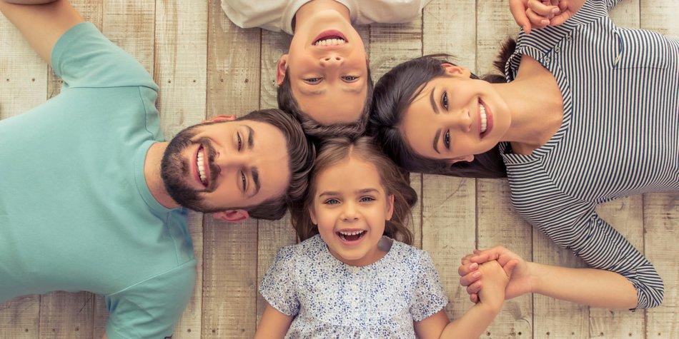 Familienfoto-Ideen