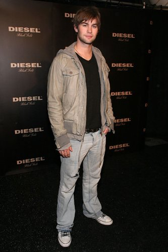 Chace Crawford auf der Fashion Week