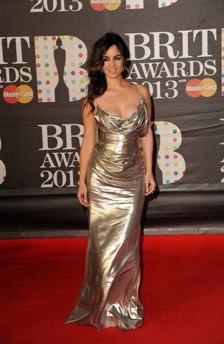 Berenice Marlohe war bei den Brit Awards als Presenterin dabei.