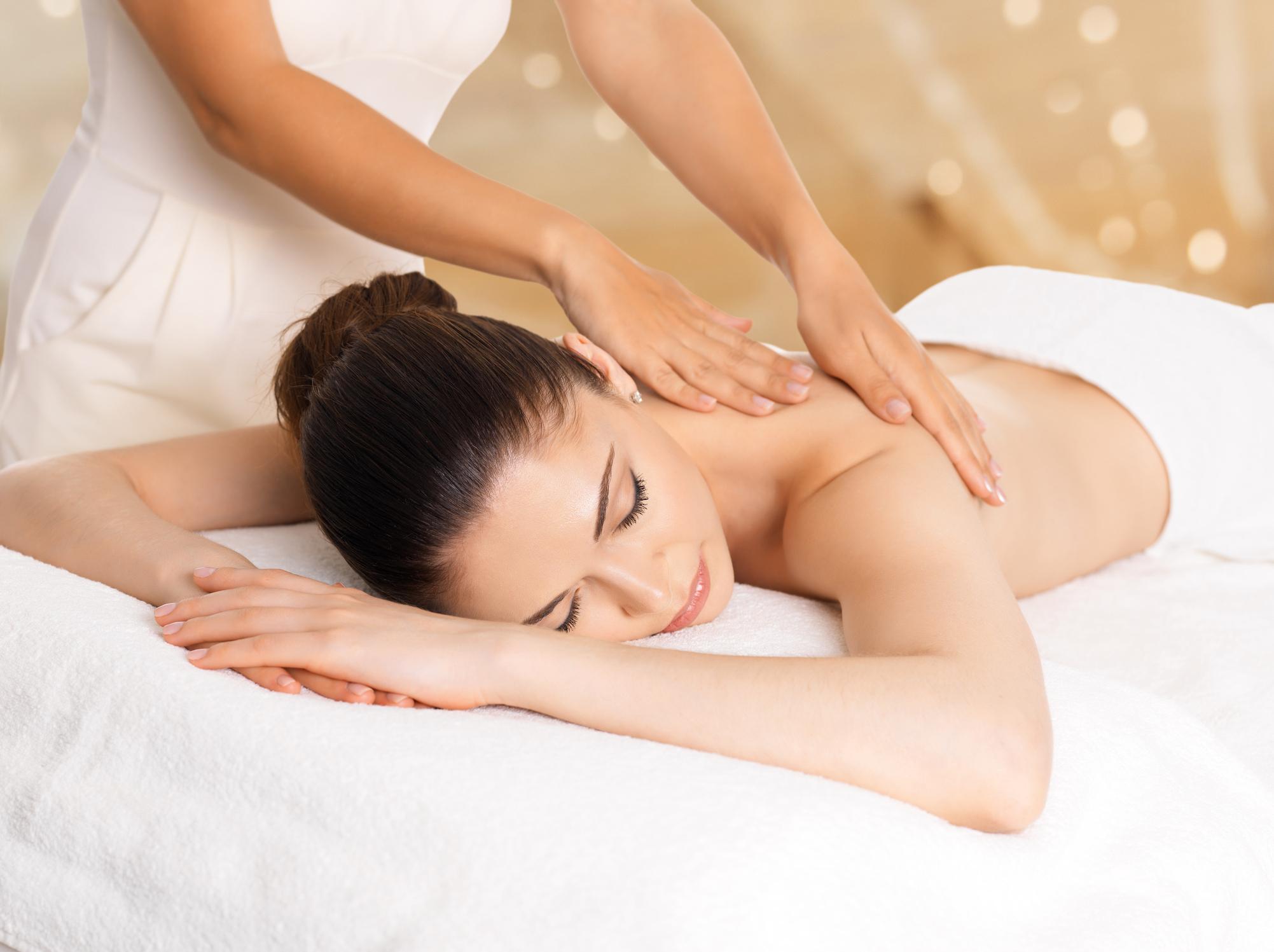 Massagen zum Abnehmen des Bauches