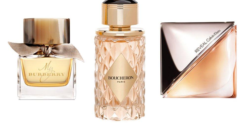 Burberry, Calvin Klein, Boucheron