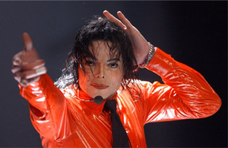 Michael Jackson live on stage