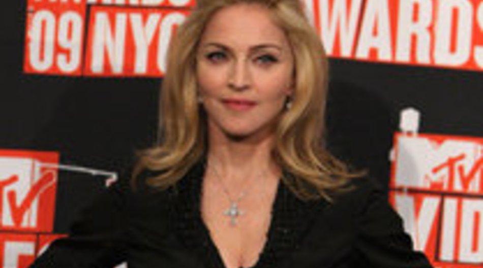 Madonna hinter der Kamera