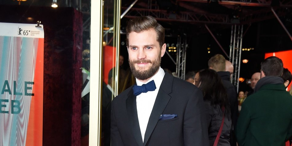 BERLIN, GERMANY - FEBRUARY 11: Actor Jamie Dornan attends the 'Fifty Shades of Grey' premiere during the 65th Berlinale International Film Festival at Zoo Palast on February 11, 2015 in Berlin, Germany. (Photo by Pascal Le Segretain/Getty Images)