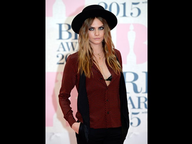 Brit Awards 2015 Cara Delevingne