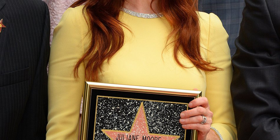 Julianne Moore hat einen Stern!