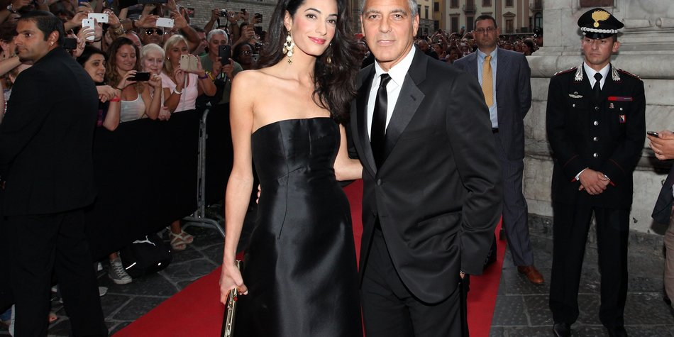 George Clooney: Heiratet er am 27. September?