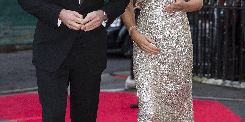 Prinz William feiert ohne Kate Middleton