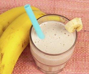 Bananen Milchshake selber machen