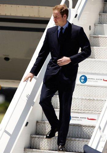 Prinz William ist immer unterwegs