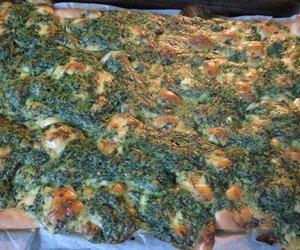 Spinat-Käse-Flammkuchen