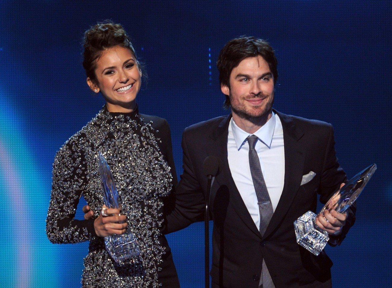 Nina Dobrev und Ian Somerhalder bei den People's Choice Awards