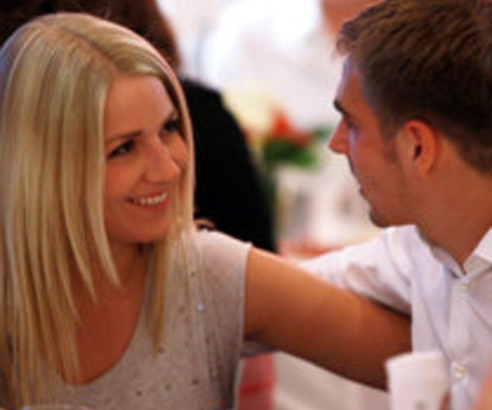 Philipp Lahm und seine Claudia: Hochzeit Teil 2