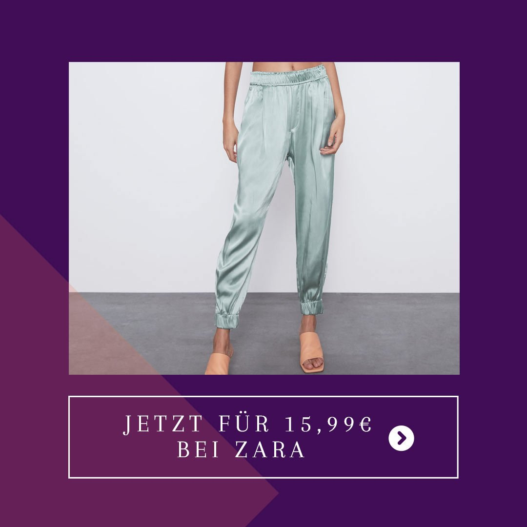 Satin Jogginghose Zara