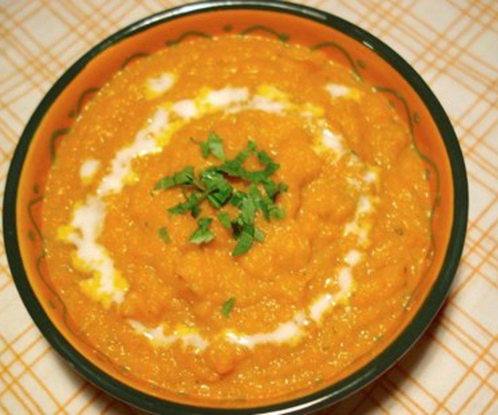 Kürbis Karotten Ingwer Suppe