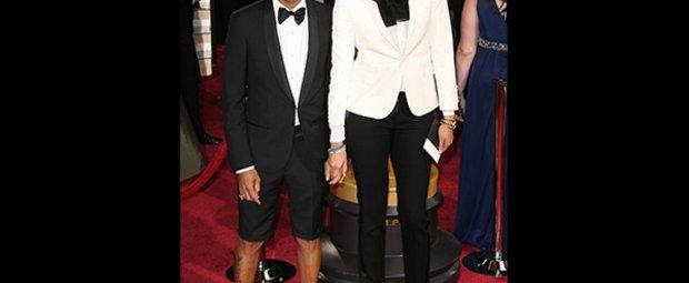 Helen Lasichanh und Pharrell Williams