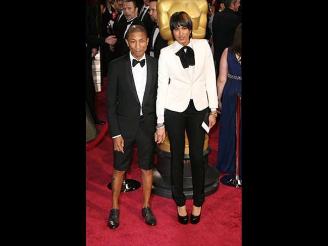 Helen Lasichanh und Pharrell Williams