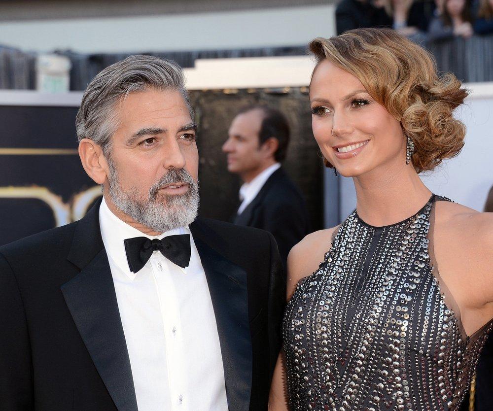 George Clooney: Seine Freundin will ihm die Show stehlen