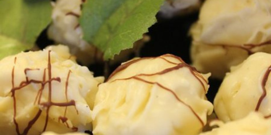 Klassische Buttervanille-Trüffel ohne Alkohol