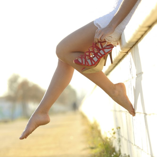 Lange Beine