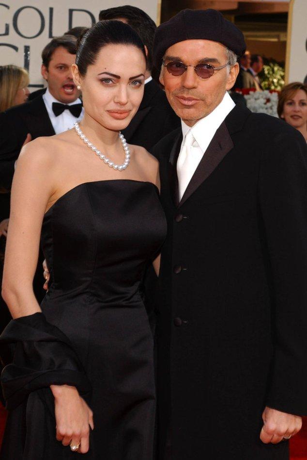 Angelina Jolie und Billy Bob Thornton bei den Golden Globes 2002