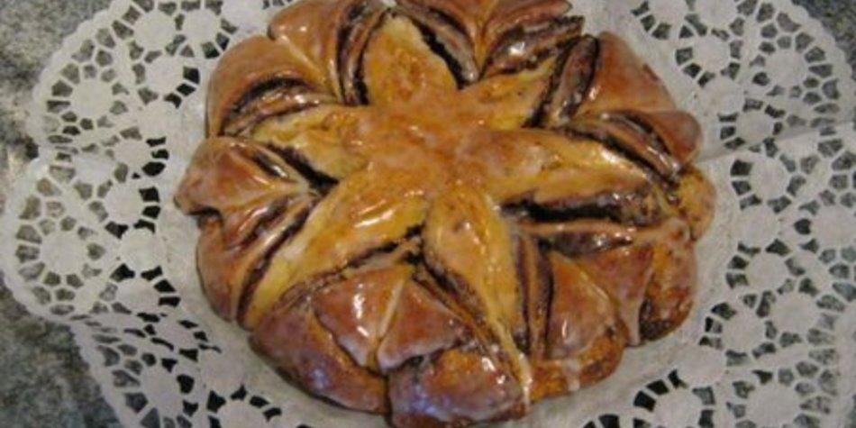 Nutellakuchen Sternkuchen klein - Single