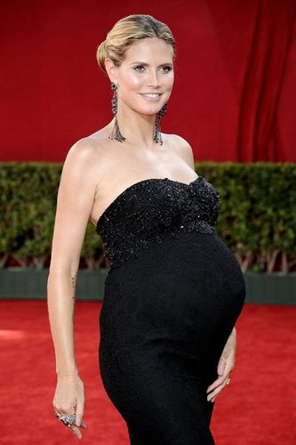 Heidi Klum bei den Emmys