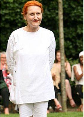 Designerin Adéline André ist bei der Paris Fashion Week dabei
