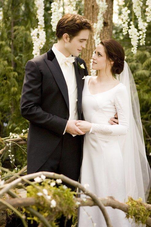 Robert Pattinsons Freundin: Twilight Breaking Dawn Hochzeit