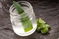 Aloe Vera Gel im Glas