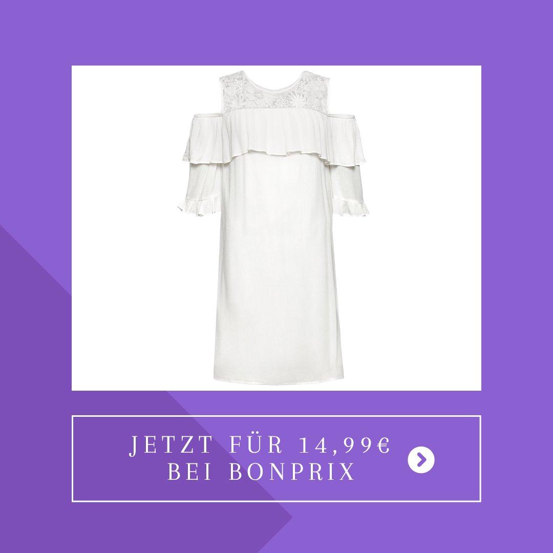 bonprix weißes kleid