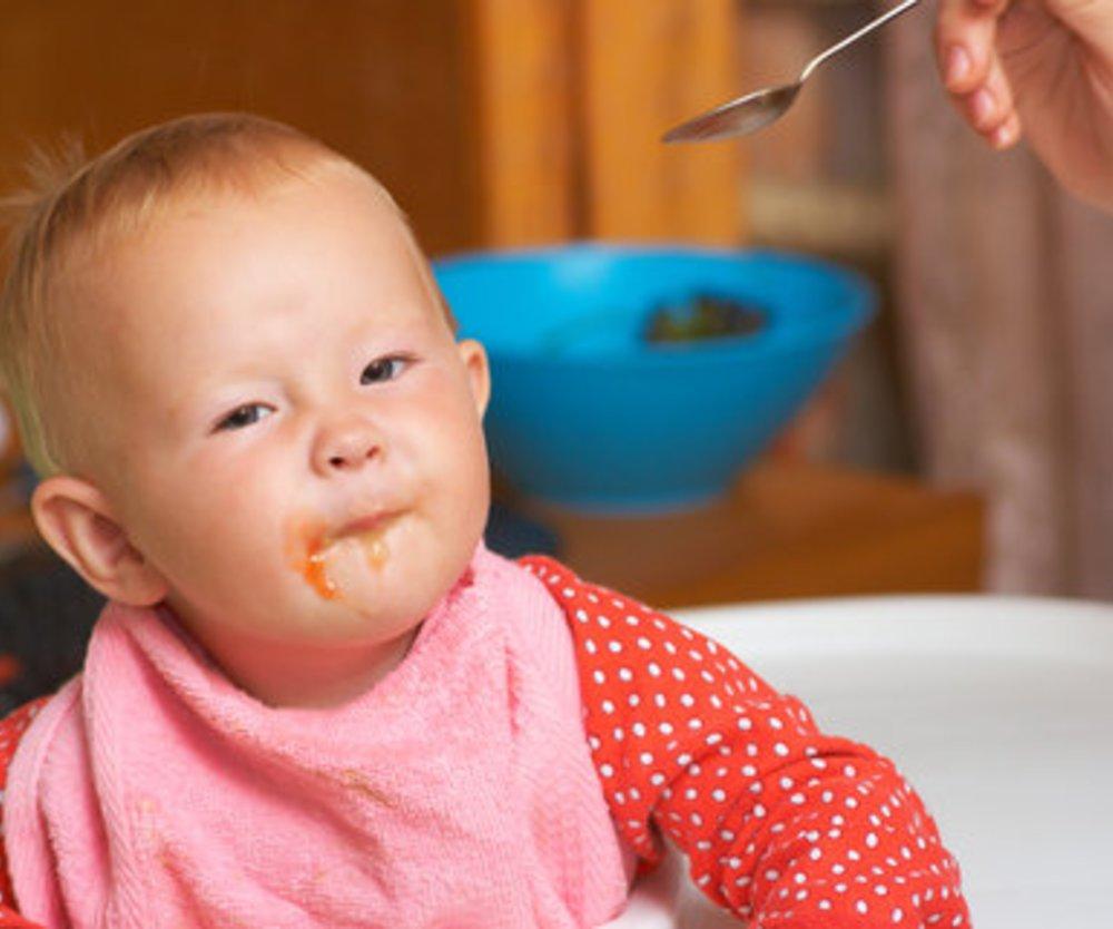 Mundschleimhautentzündung beim Kleinkind