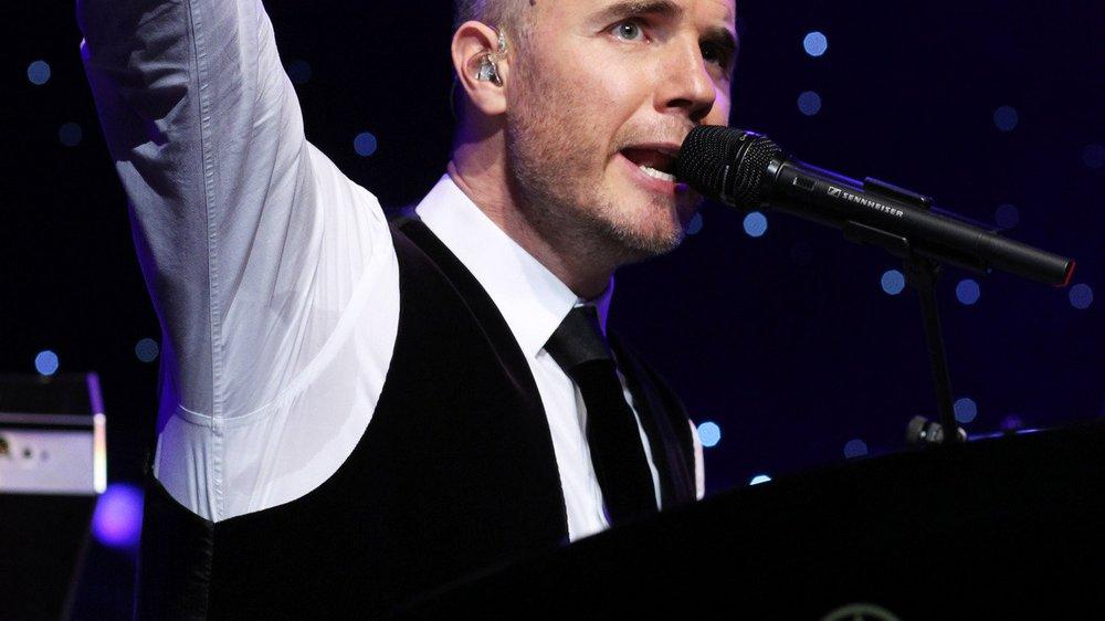 Gary Barlow ist nach X Factor völlig k.o.