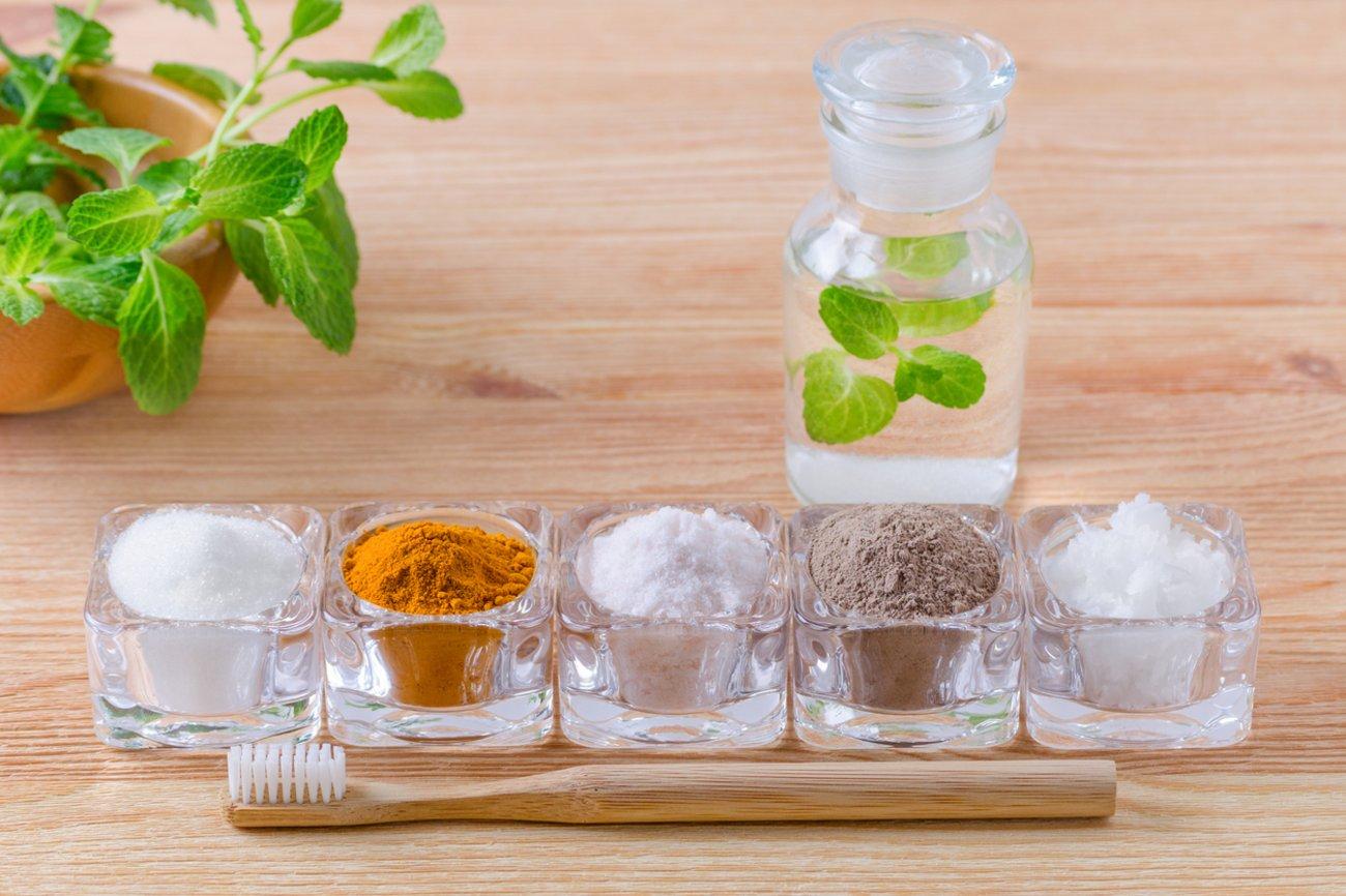 Pickel auf der Zunge Mundspülung Antibakterielle Tees