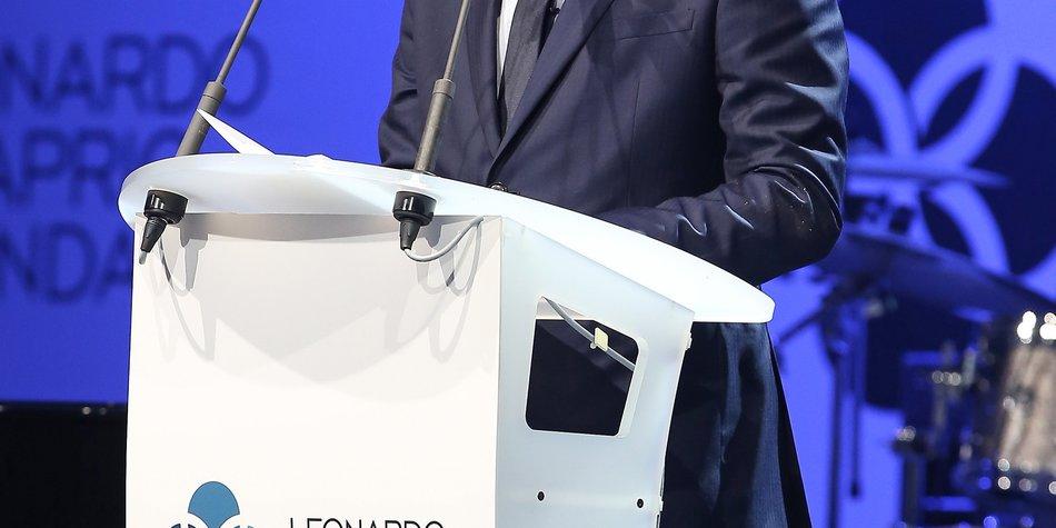 Leonardo DiCaprio wird UN-Friedensbotschafter