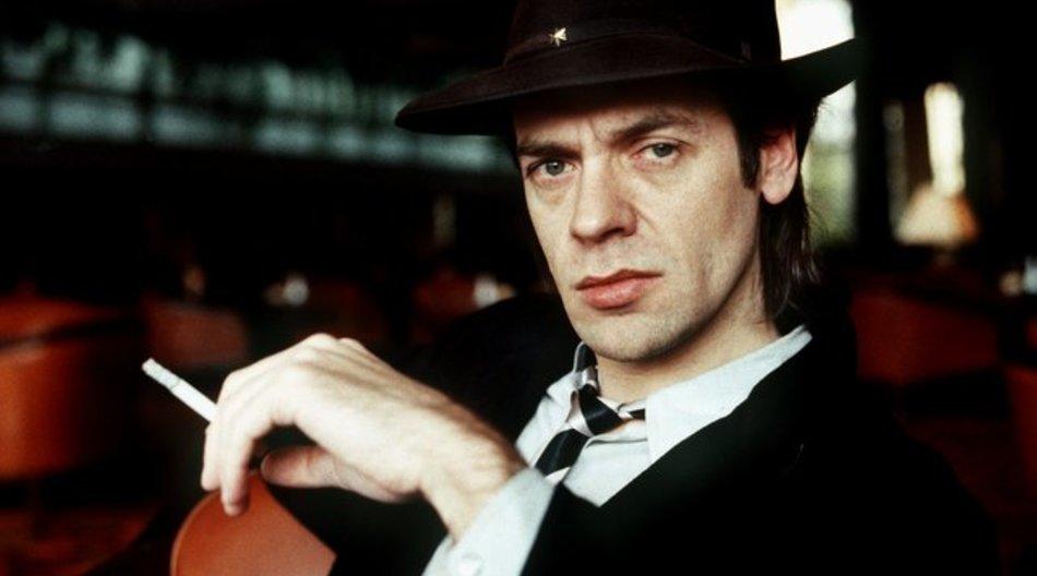 Da rauchte er auch schon: Udo Lindenberg, 1984.