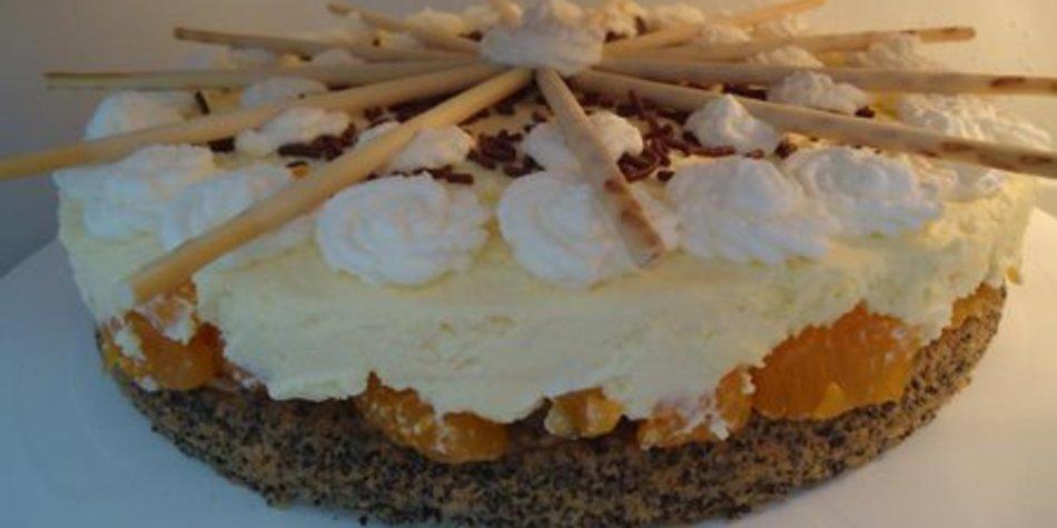 Mandarinen-Mohn-Torte