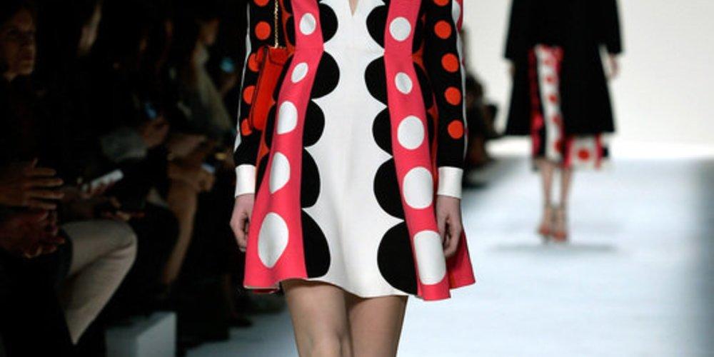 Valentino bei der Paris Fashion Week Fall/Winter 2014/15