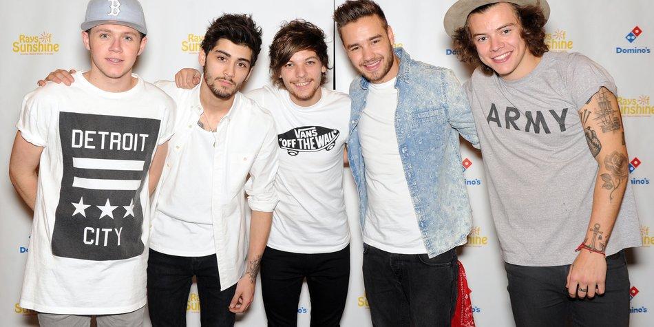 One Direction sind im WM-Fieber