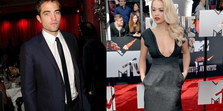Robert Pattinson auf Flirtkurs mit Rita Ora