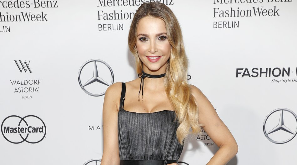BERLIN, GERMANY - JUNE 30: Sophie Hermann attends the Dimitri show during the Mercedes-Benz Fashion Week Berlin Spring/Summer 2017 at Erika Hess Eisstadion on June 30, 2016 in Berlin, Germany. (Photo by Luca Teuchmann/Getty Images for Dimitri)
