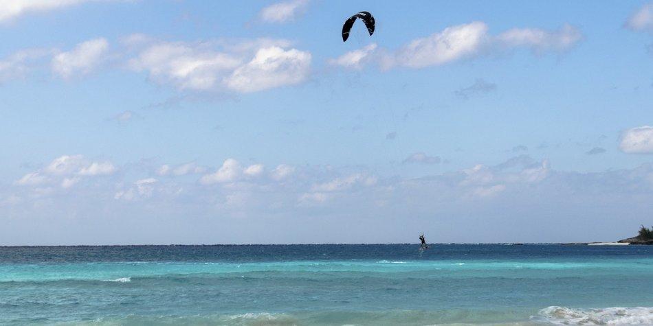 Kitesurfer Physiotherapeut