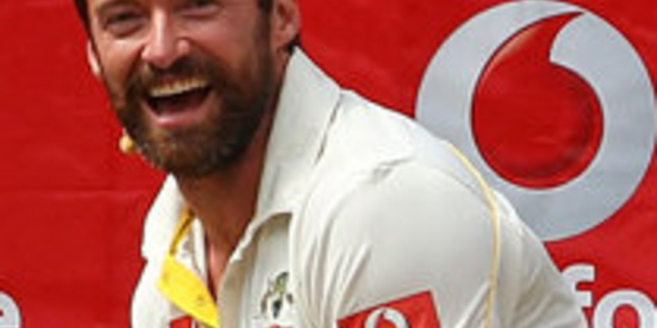 Hugh Jackman verletzte sich beim Cricket