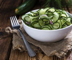 Gurkensalat ist ein wahres Kalorien-Leichtgewicht
